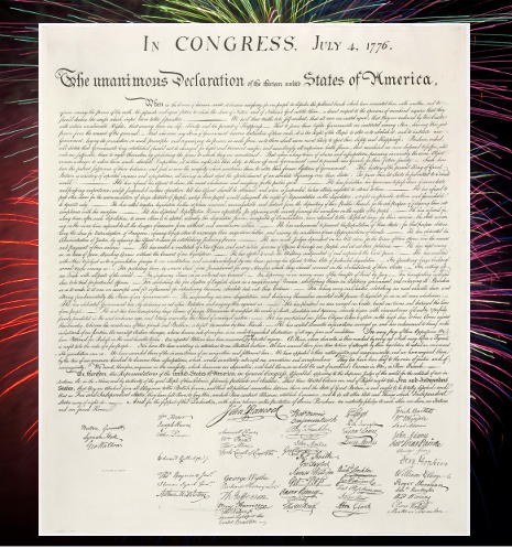 Photo of Declaration of Independence